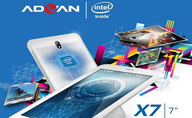 Tablet Berotak Komputer Dari Advan Vandroid X7