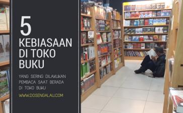 kebiasaan di toko buku
